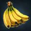 [小サルの興味] 木にぶらさがったサルがあなたを見つめています。どうやらバナナの皮を投げそうです。(10秒持続)