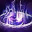 [宝玉の呪い] 黒魔法の玉に飲み込まれました。HPが減少します。(1秒持続)